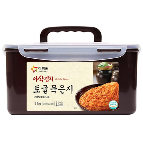 토굴 묵은지(3kg)