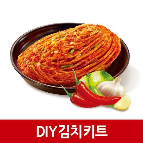 DIY 김치 키트, 3.2kg, 간편하게, 직접만들어서, 더 믿고 먹는 김치 키트