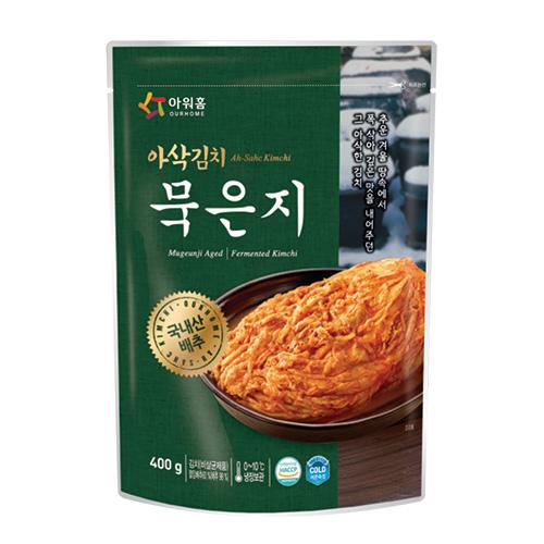 아삭김치 묵은지(400g) 따끈한 밥과 함께 찰떡궁함, 구수하고 깊은 맛의 묵은지