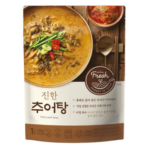 진한 추어탕(400g) 상온보관,국내산미꾸라지,몸보신,보양탕