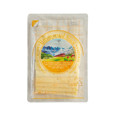 에멘탈 슬라이스 치즈(150g)