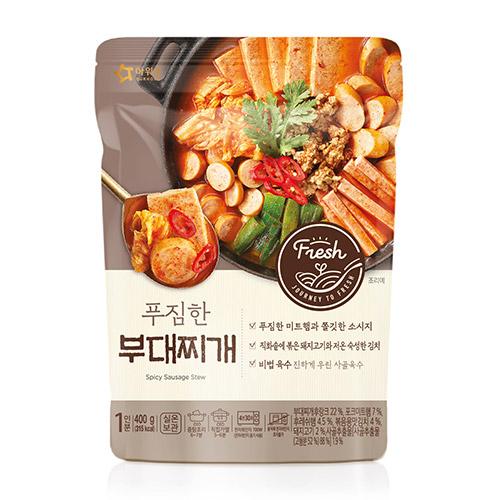푸짐한 부대찌개(400g)